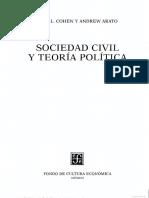 Arato Andrew y Cohen Jean_Los Movimientos Sociales_Sociedad Civil y Teoria Politica_Cap 10