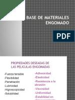 Base de Materiales Engomado