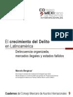 El Crecimiento Del Delito en Latinoamerica Marcelo Bergman