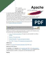 Concepto, Caracteristicas y Versiones de APACHE