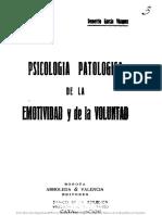 psicología patológica