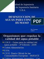 Institutos Desinfeccion Aguas Consumo Humano