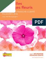 Palmarès 2016 des villes et villages fleuris