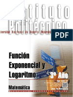1307-16 MATEMATICA Función Exponencial y Funcion Logaritmica
