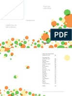 Art&Design Complete List Frankfurt 2014