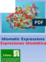 Idioms - Spanish and English