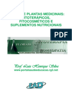 Plantas Medicinais Fitoterápicos Fitocosméticos Suplementos