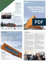 Leed Platinum Brochure