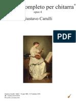 Gustavo Carulli, Opus 4
