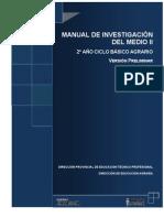 MANUAL DE INVESTIGACIÓN DEL MEDIO II