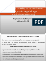 9 Gry i Zabawy Dydaktyczne ZS w Strachoslawiu