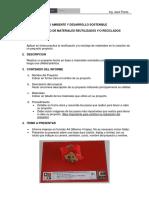 Indicaciones Trabajo Proyecto de Reciclaje