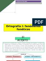 FENÓMENOS FONÉTICOS