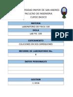 Informe (8) Colisiones en Dos Dimensiones