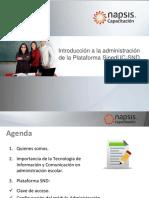 Introduccion a La Administracion de La Plataforma Sineduc-snd