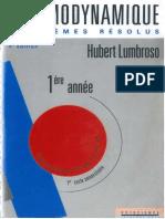 Lumbroso Thermodynamique by Sabor