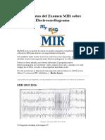 Preguntas Del Examen MIR Electrocardiograma