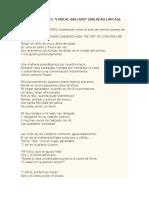 Algunos Poemas De Coleridge
