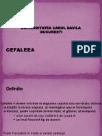 13.1.Cefalee Romana