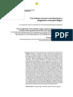 Um Sistema Nervoso Conceitual Para o Diagónstico Neuropsicológico
