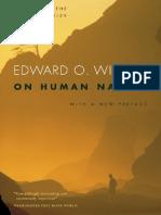 Edward Wilson - On Human Nature