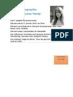Biographie Françoise Hardy