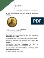 101 Herejias de Juan Pablo II