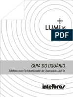 Guia Do Usuario Intelbras Lumi Id Portugues