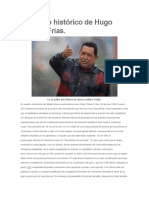 El Legado Histórico de Hugo Chavez Frias