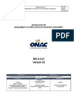 INS-4 2-01 Instruction for Management Systems Certification Bodies- Inglés