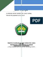 Cover Program UAS