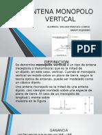 Antena Monopolo Vertical