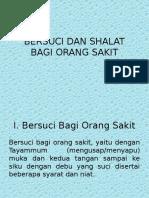 BERSUCI DAN SHALAT Bagi Orang Sakit.pptx