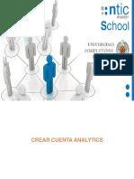 Crear Cuenta Analytics