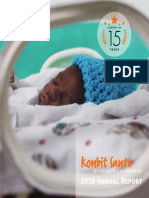 Konbit Sante 2016 Annual Report