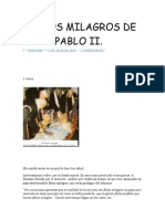 Falsos Milagros de Juan Pablo II
