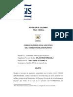 Sent 11001110200020130645701 15 Criterios Para Determinar Si Hubo Cobro Excesivo de Honorarios Carga de La Prueba de La Gestion Realizada
