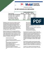 CALCULO FUGAS ACEITE Consejo 208-Reducción Del Consumo de Lubricantes