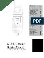 Micro Medical Micro H2 Meter