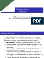 Macroeconomía - Introducción