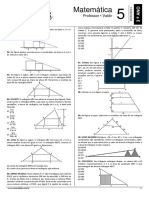 07. SB-07 - Lista 05 - Geometria Plana - Semelhan_a de Tri_ngulos e Tri_ngulo Ret_ngulo