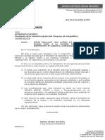 Solicitamos urgentes informes sobre las medidas tomadas frenre a los incendios forestales en Cajamarca y Lambayeque