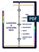 Presentacion Plan Estrategico Auditoria 2007