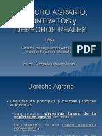 Derecho Agrario, Contratos y Derechos Reales UNSa