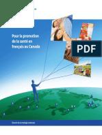 Pour la promotion de la santé en français au Canada