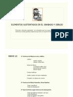 Elementos Sustentados Del Grabado y Dibujo.