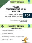 Competencias de Un Auditor