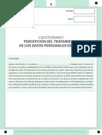 Cuestionario DP EMPRESAS