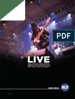 RCF Live Sound 2016 En