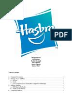 hasbro marketing plan